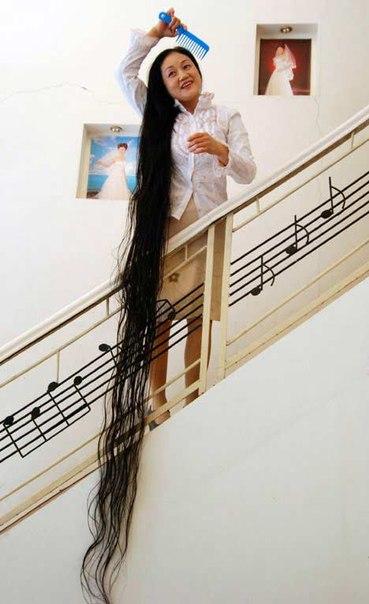 Самых длинных в мире волос – кто они