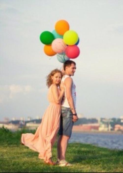 Идеи фото с шарами