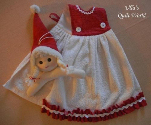 Как сделать полотенце для кукол своими руками видео