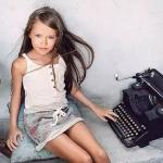 О самой красивой девочкe мира Кристине Пименовой.