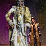 "Норгьянма Монгуш - солистка театра танца и костюма ""Эдегей"", мисс ""альма-матер""-2016."