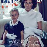 Ким кардашьян для Interview Magazine (2017) в образе Джеки Кеннеди.