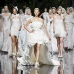 Показ свадебных платьев.