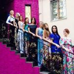 """Показ платьев от бутика """"Золотой песок"""", Jewel Models Казань."""