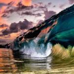 Завораживающие фотографии морских волн.
