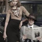 Анна Селезнева и Уэс бентли для Harper's Bazaar US, 2010.
