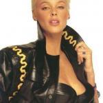 Brigitte Nielsen - датская актриса, фотомодель и певица.