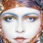 Советская топ-модель Галина Миловская.