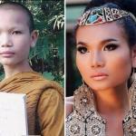 Мими - монах, который превратился в самую красивую супермодель Таиланда.