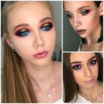 Работы преподавателей Svetlana Klepach Makeup School.