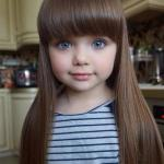 Эту 6-летнюю девочку из россии называют самой красивой в мире.