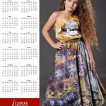 Вот такой календарь я сегодня со своим изображением получила?