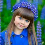 Шестилетняя россиянка самой красивой девочкой в мире стала.