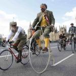 Фото с ежегодных лондонских твидовых велопробегов (Tweed Run.
