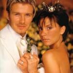 Свадебные фотографии Дэвида и Виктории бэкхем, 04.
