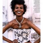Лия Кебеде (Liya Kebede).  Лия Кебеде (Liya Kebede) – темнокожая супермодель из Эфиопии.