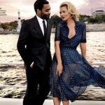 Кейт мосс и чиветел эджиофор для Vogue US, 2013.