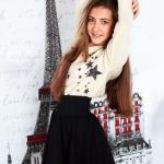 """Модельное агентство BM Models специально для учениц модельной школы BM провели фотопроект """"Каникулы в Париже """"."""