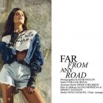 "institutemagazine editorial ""far from any road"" fashion editorial magazine denim sun studio."