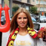 Болельщица сборной Бельгии благодаря ЧМ-2014 стала моделью.