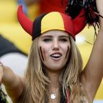 Фанатка сборной Бельгии получила контракт модели благодаря ЧМ-2014.