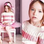 Кристина Пименова. Когда девочке исполнился год, она вместе с родителями переехала в Москву.