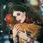 Красота славянских женщин глазами русского фотографа.