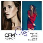 CFM_Model: Olya G. Got the contract to Hongkong @ CalCarries Model Management.