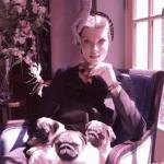 """Линда евангелиста в фотосессии """"Герцогиня"""", Vogue, 2008."""