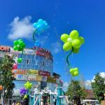 Жители Соломбалы отметили 430-летие Архангельска традиционными танцами на соломе.