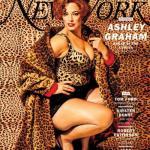 Эшли Грэм в пинап - фотосессии для New York Magazine, 2017.