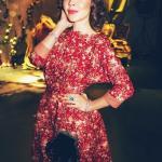 Ульяна Сергиенко – икона российского стиля, дизайнер и просто русская красавица.